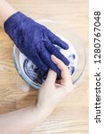 workshop of hand making a... | Shutterstock . vector #1280767048