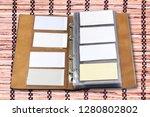 business card holder close up   Shutterstock . vector #1280802802