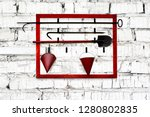 fire protection contrivances on ...   Shutterstock . vector #1280802835