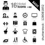 basic   hotel icons