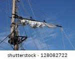 Old Sailing Boat Mast