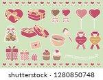 design illustrations for... | Shutterstock .eps vector #1280850748