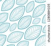 seamless abstract pattern.... | Shutterstock .eps vector #1280884105