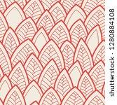 seamless abstract pattern.... | Shutterstock .eps vector #1280884108