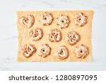 freshly baked christmas... | Shutterstock . vector #1280897095