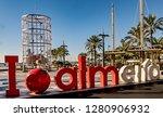 almeria  spain. circa january... | Shutterstock . vector #1280906932