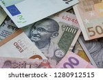 one hundred indian rupees... | Shutterstock . vector #1280912515