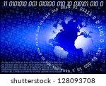 binary code | Shutterstock . vector #128093708