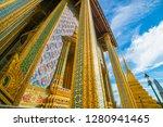 grand palace of bangkok wat pra ... | Shutterstock . vector #1280941465