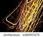 color magic line. abstract... | Shutterstock . vector #1280947675