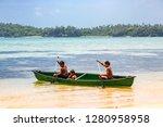 vavau island  tonga   jan 1... | Shutterstock . vector #1280958958
