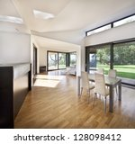 interior of a new family house | Shutterstock . vector #128098412