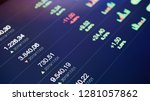 stock exchange market board and ...