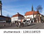 poland  krakow   january 03 ... | Shutterstock . vector #1281118525
