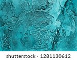 vintage old plaster as a...   Shutterstock . vector #1281130612