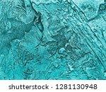 vintage old plaster as a...   Shutterstock . vector #1281130948
