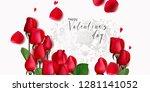romantic backgrond for st... | Shutterstock .eps vector #1281141052