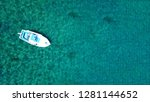 aerial drone photo of... | Shutterstock . vector #1281144652