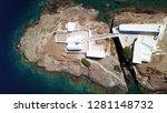 aerial drone  bird's eye view... | Shutterstock . vector #1281148732