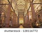 verona   january 27  nave of... | Shutterstock . vector #128116772