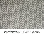 gray canvas texture  delicate...   Shutterstock . vector #1281190402
