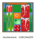 here is an illustration of pre... | Shutterstock . vector #1281246205