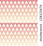 seamless geometric pattern with ... | Shutterstock .eps vector #128125676