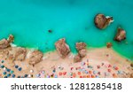 aerial view of the amazing ... | Shutterstock . vector #1281285418