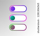 abstract 3d infographic... | Shutterstock .eps vector #1281306565