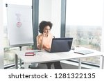 dedicated young ambitious...   Shutterstock . vector #1281322135
