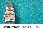 aerial top view photo of huge... | Shutterstock . vector #1281473248