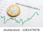 british pound exchange rate ... | Shutterstock . vector #1281475078