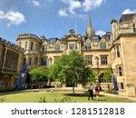 oxford university  oxford  uk   ... | Shutterstock . vector #1281512818