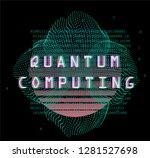 cyberpunk futuristic style...   Shutterstock .eps vector #1281527698