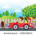 illustratio of a young... | Shutterstock .eps vector #128154812