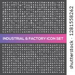industrial and factory vector... | Shutterstock .eps vector #1281558262