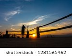 photographer taking a photo of... | Shutterstock . vector #1281565462