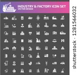 industry and factory vector... | Shutterstock .eps vector #1281566032