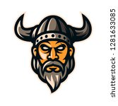 Viking Warrior Knight Logo...