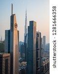 dubai  united arab emirates  ... | Shutterstock . vector #1281666358