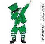 awesome irish dab | Shutterstock .eps vector #1281709768