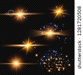 vector illustration of abstract ...   Shutterstock .eps vector #1281720508