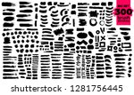 giant set of black brush... | Shutterstock .eps vector #1281756445