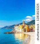 scenic mediterranean riviera...   Shutterstock . vector #1281823225