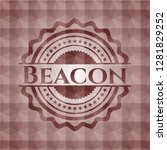 beacon red seamless geometric... | Shutterstock .eps vector #1281829252