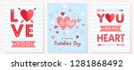 collection of creative... | Shutterstock .eps vector #1281868492