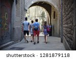 barcelona  spain   july 20 ... | Shutterstock . vector #1281879118