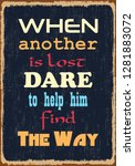 when another is lost dare to... | Shutterstock .eps vector #1281883072