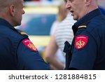 rotterdam  netherlands  ... | Shutterstock . vector #1281884815