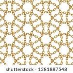 seamless pattern made of... | Shutterstock .eps vector #1281887548